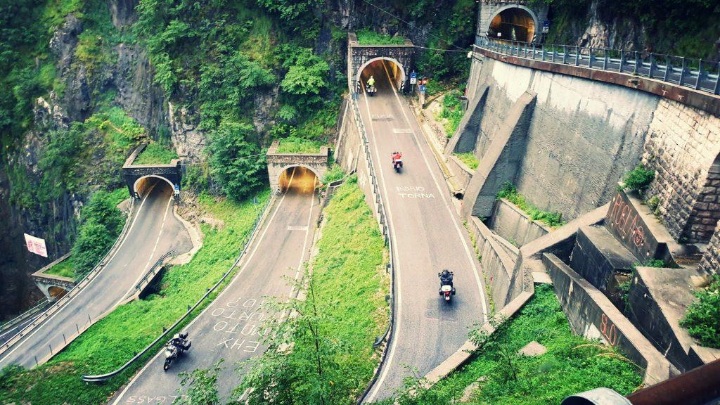 Paso de San Boldo, Italia.