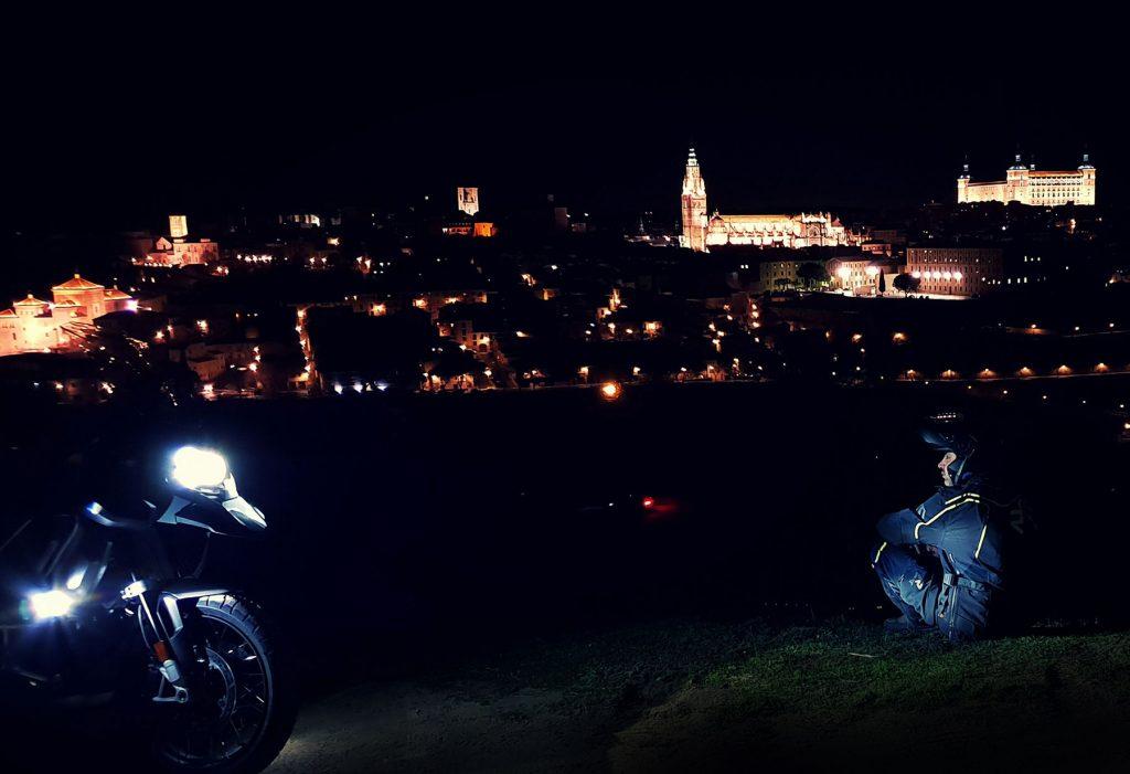 Toledo al anochecer.