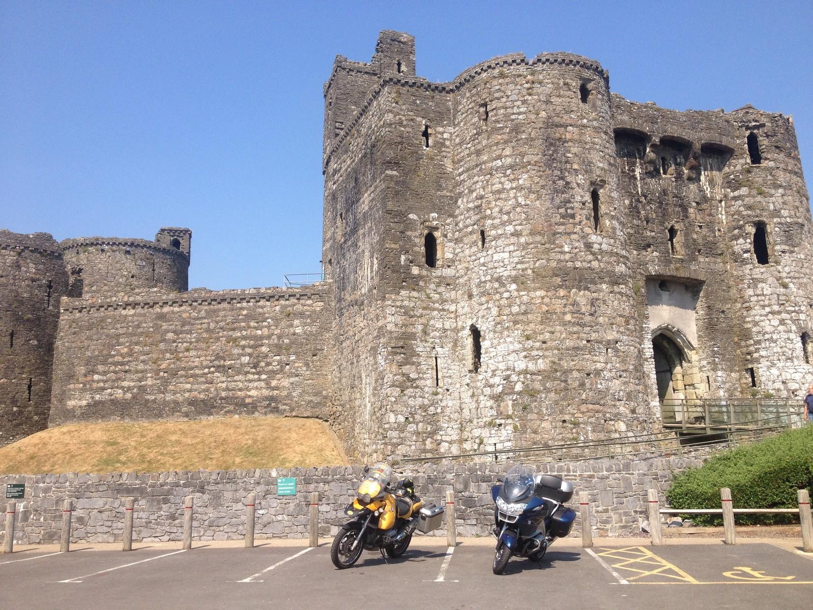 Gales en moto: Kidwelly
