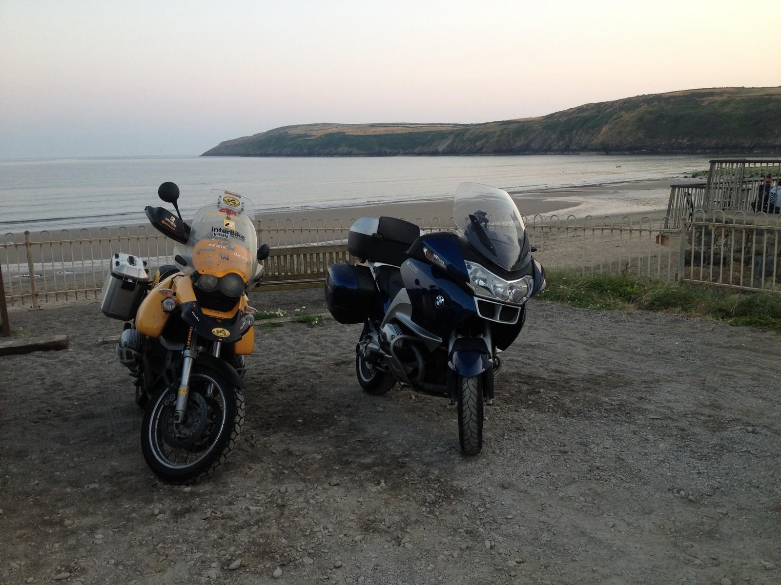 Gales en moto: Aberdaron