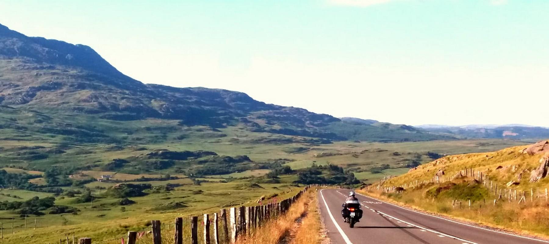 Gales en moto: Parque Nacional de Snowdonia