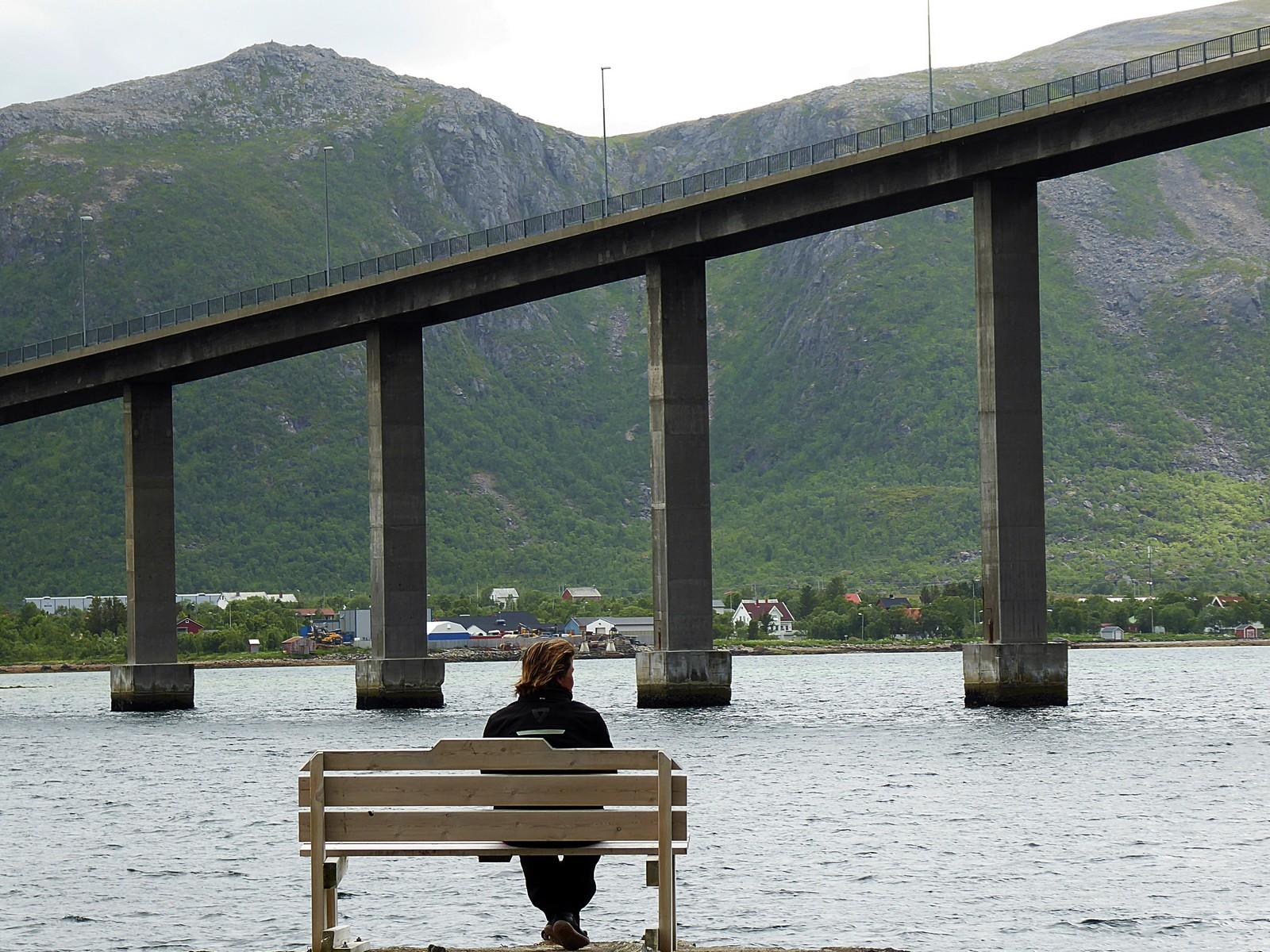 Puente en Noruega.