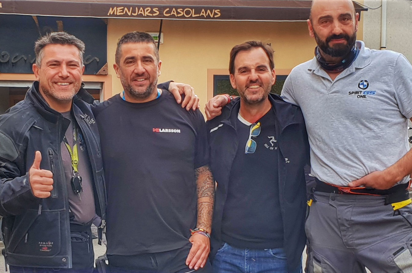 Raúl Espinosa, David Gavina, Emilio Turrión y Luis Lainz (i-d).