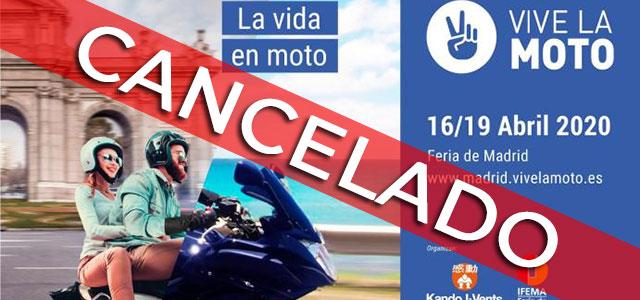 Cancelado el Salón Vive la Moto de Madrid a consecuencia del coronavirus.