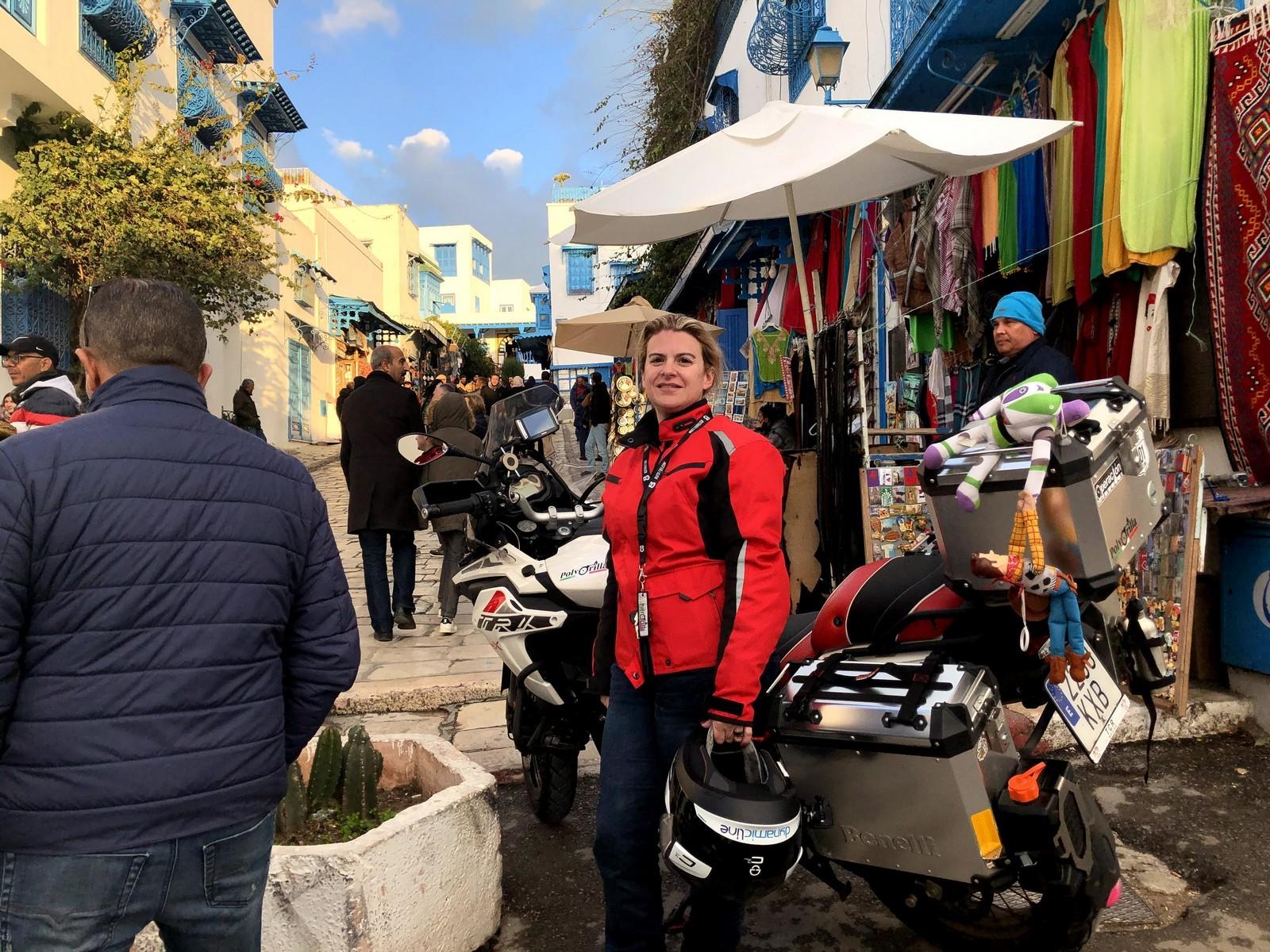 Túnez en moto: Operación Ras Angela.