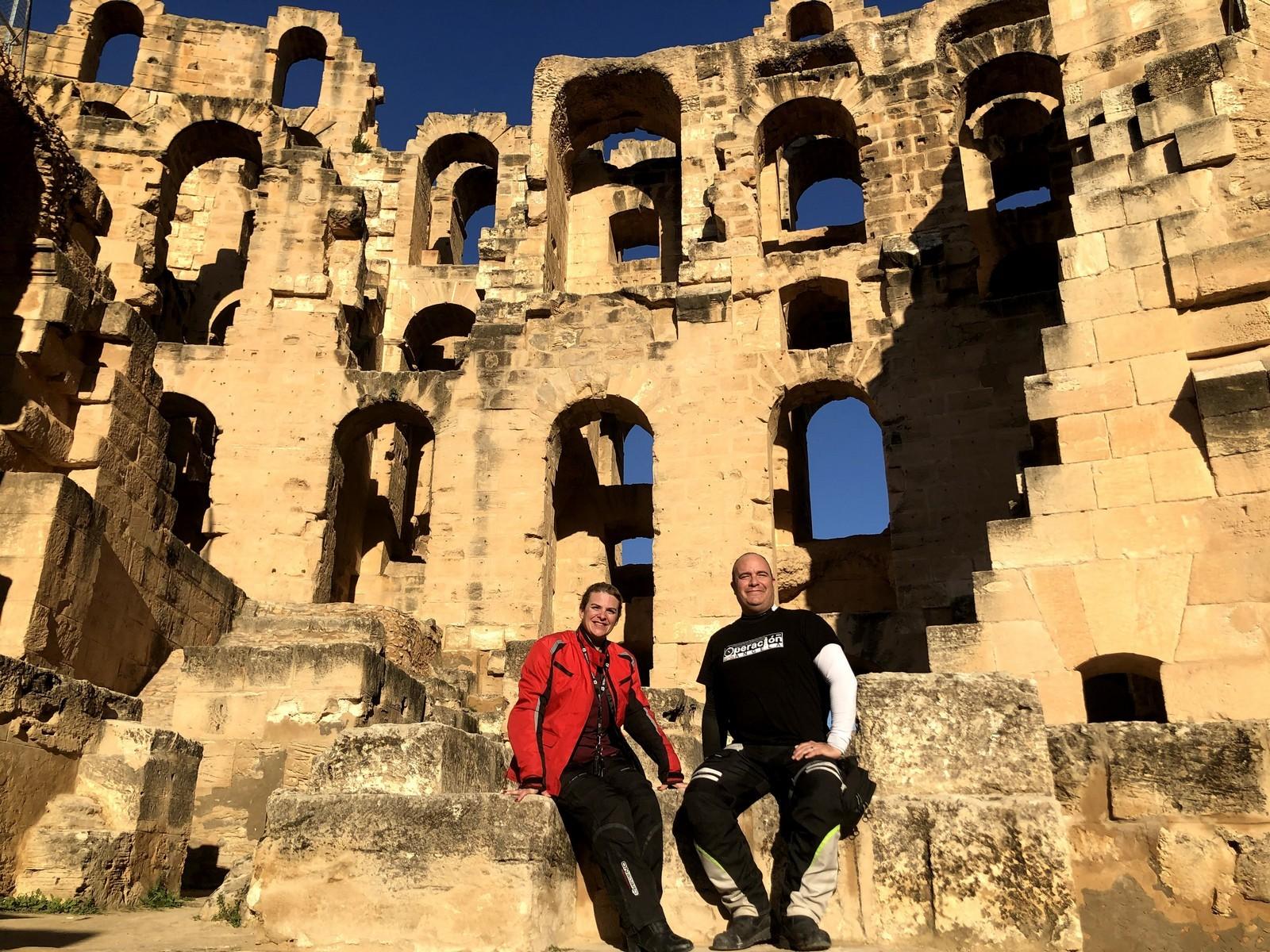 El anfiteatro de Djem es el mayor de África y el cuarto del mundo.