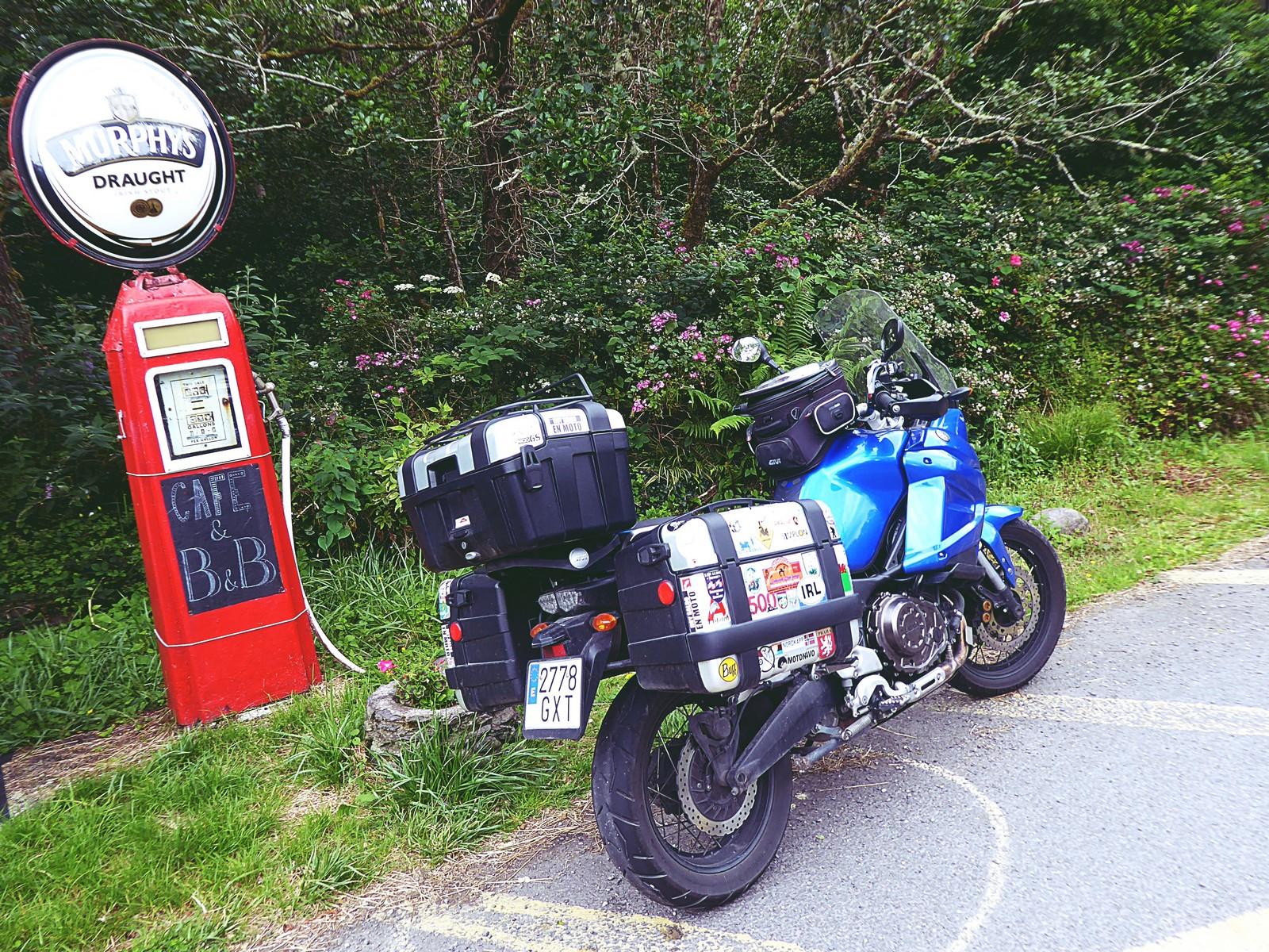 Las 5 penínsulas de Irlanda en moto.