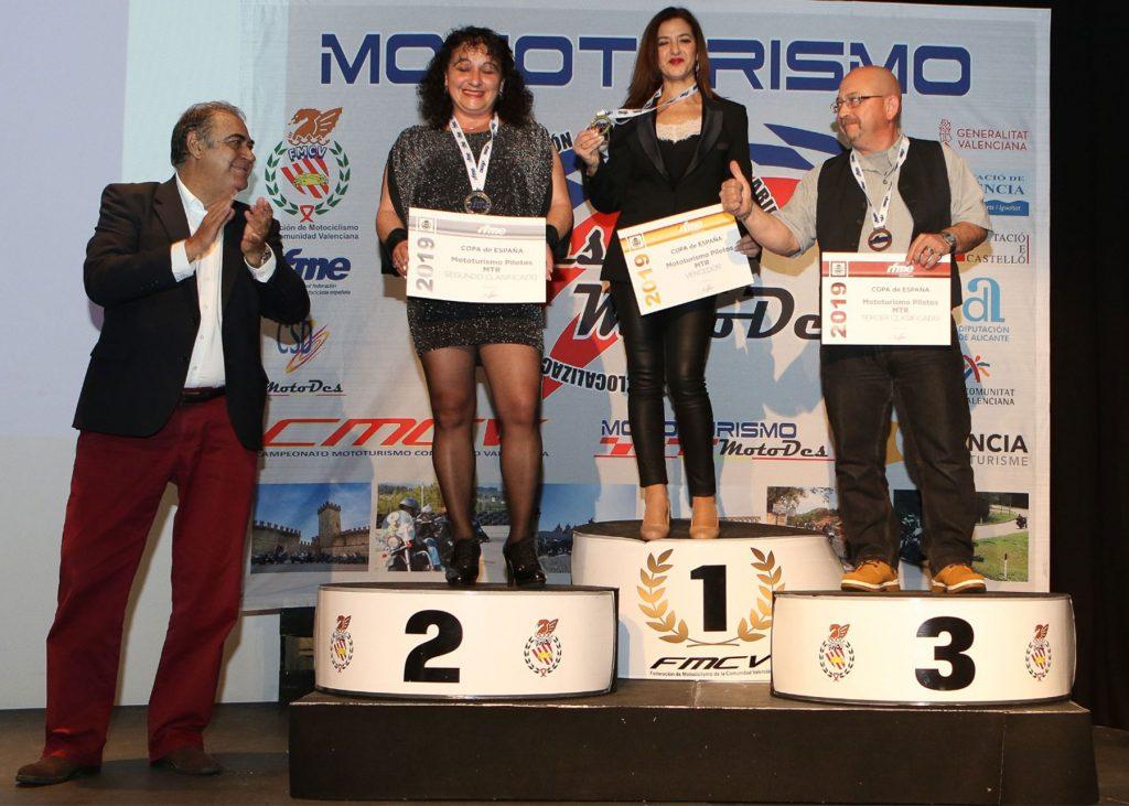 Entrega de premios: en lo más alto del podium, casi una costumbre.