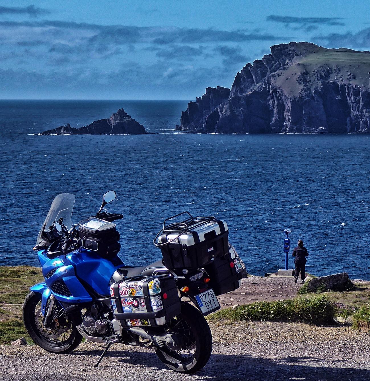 Irlanda en moto.