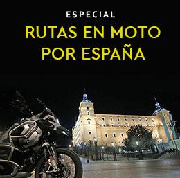 Rutas en moto por España.
