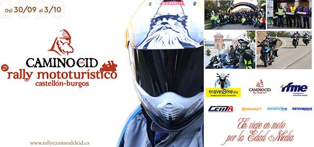Se abren las inscripciones para el II Rally Mototurístico Camino del Cid