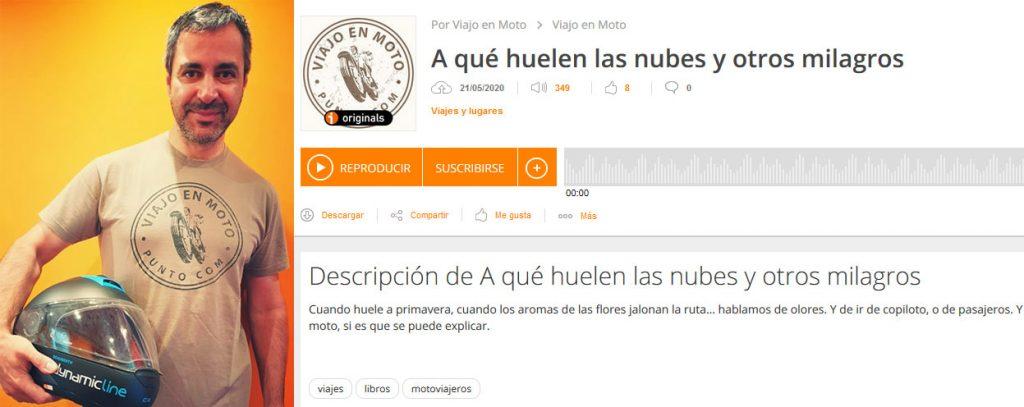 Entrevista de Roberto Naveiras a Quique Arenas, en viajoenmoto.com