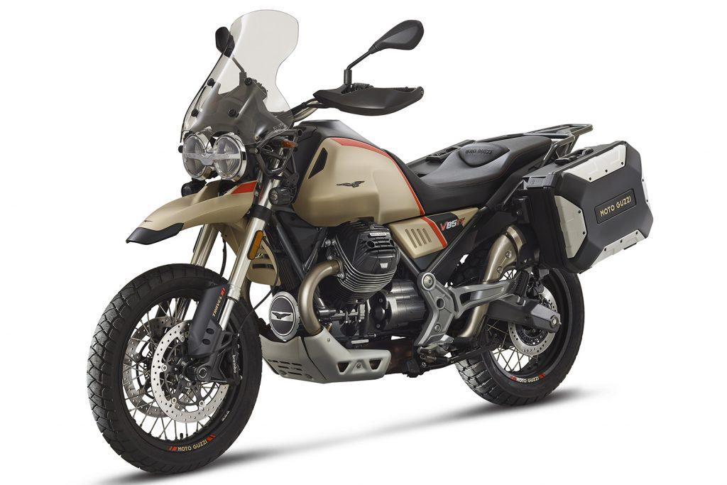 Moto Guzzi V85TT Travel.