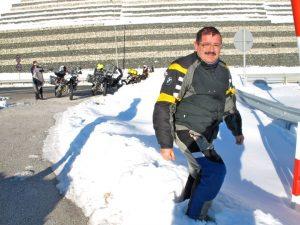 Roberto Peregrín, Grecia: nieve en marzo.