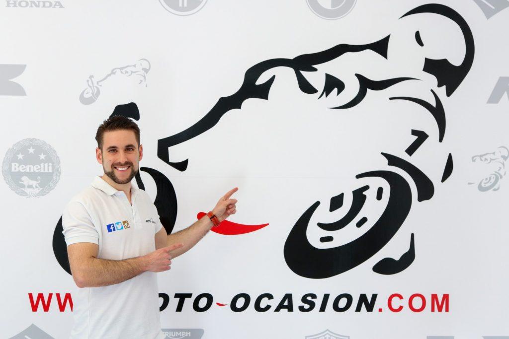 Darío Lumbreras, propietario de Moto-Ocasión.