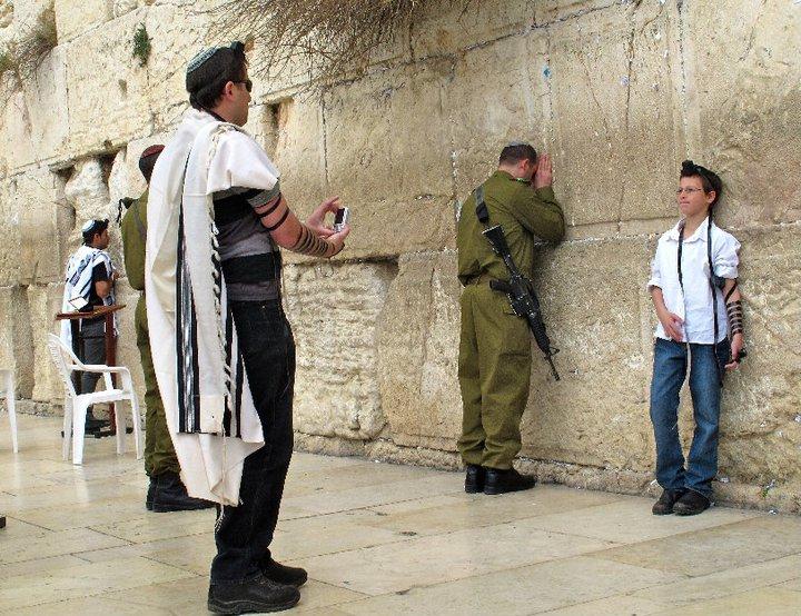 Jerusalén, muro de las lamentaciones.