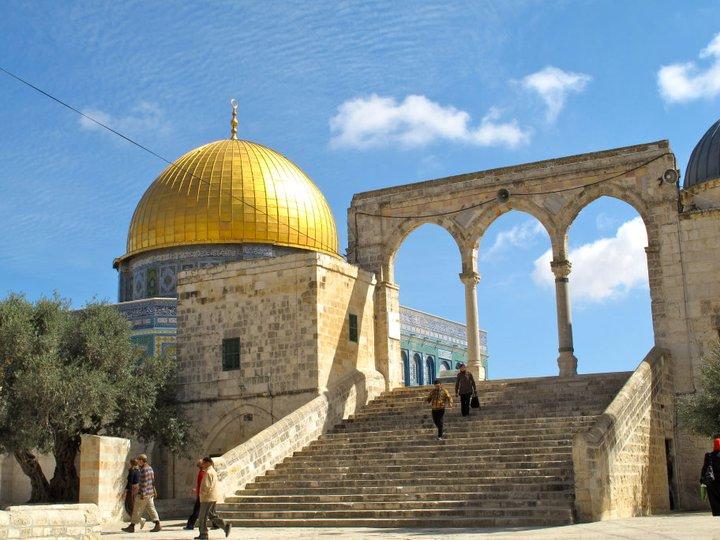 JERUSALEN TEMPLO DE LA ROCA