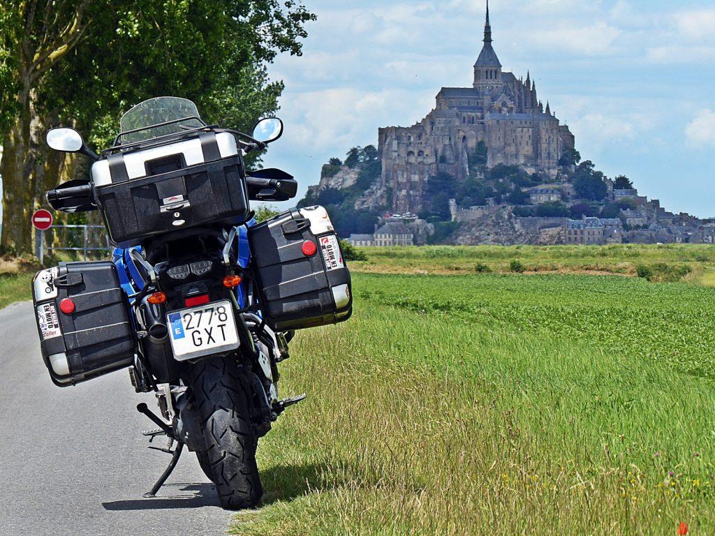 La inconfundible e hipnótica estampa del Mont Saint Michel.