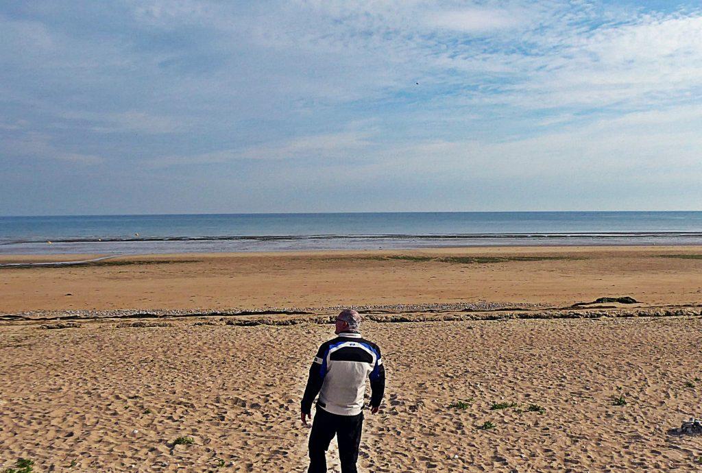 La playa de Juno, en la que desembarcaron los soldados canadienses.