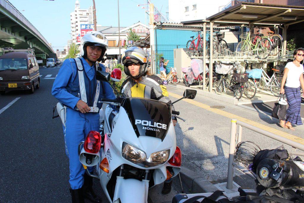 Conversaciones con un policía japonés.
