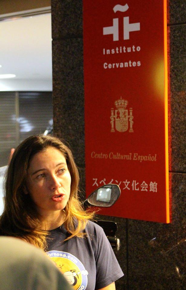 En el Instituto Cervantes.