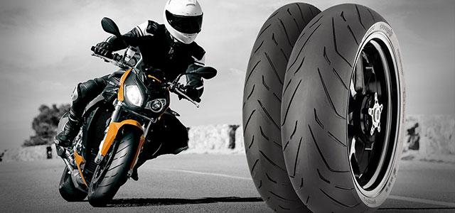 Consigue un juego de neumáticos ContiRoad