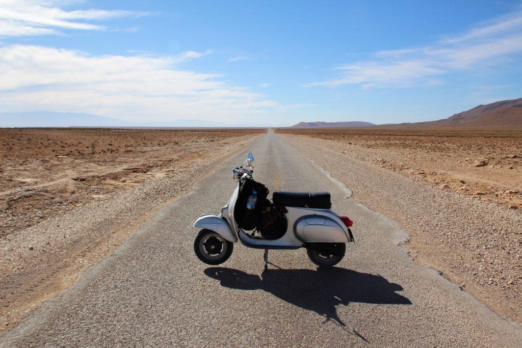 Ruta 503 a Midelt: hasta el Sahara en Vespa.