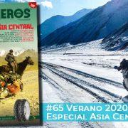 Julio-Agosto 2020 // Nº 65 Revista Motoviajeros – Especial Asia Central ¡¡¡200 páginas!!!