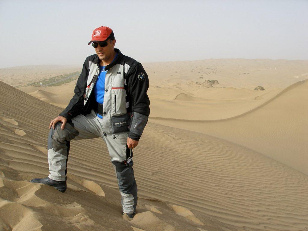 Ricard Tomás ha explorado el desierto del Gobi y el Taklamakán.
