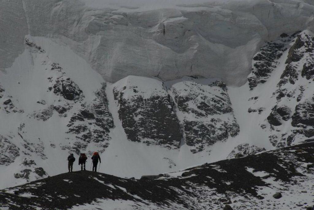 Ricard Tomás y la montaña, otra de sus grandes pasiones.