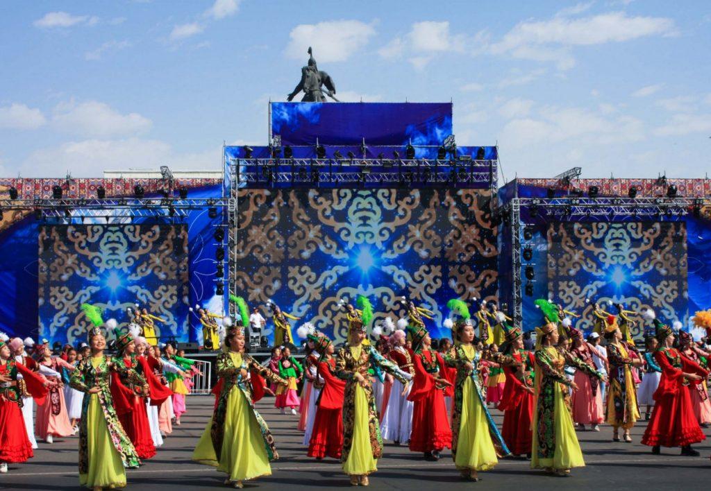 Estampas de Asia Central.
