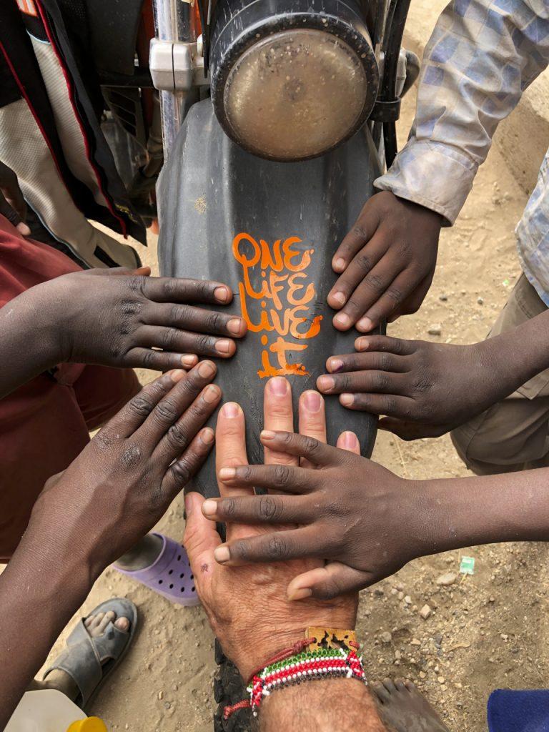 Donación de una Kibo.