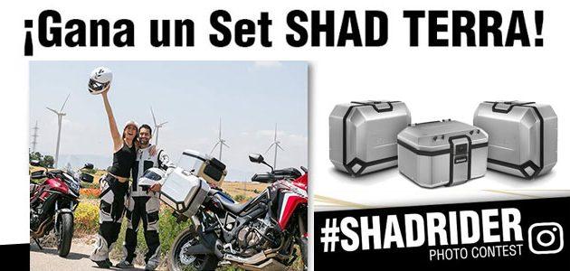 Gana un set de maletas SHAD TERRA