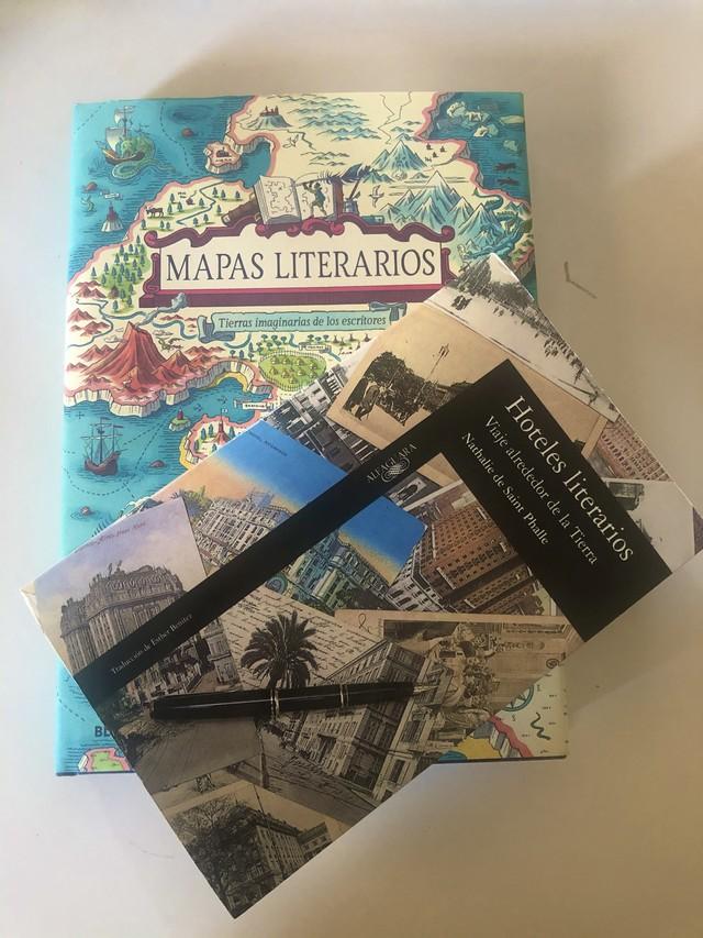 Libros de viajes: Tierras imaginarias de los escritores.