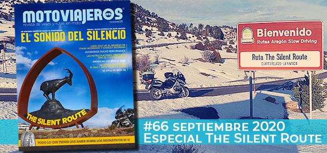 Septiembre 2020 // Nº 66 Revista Motoviajeros – Especial The Silent Route
