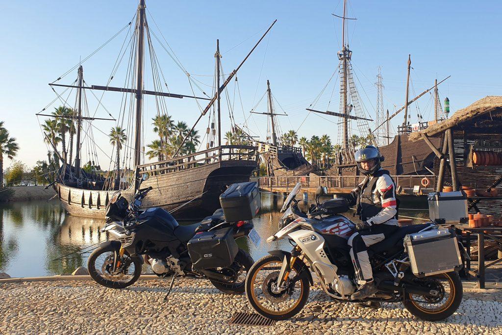 Con las BMW F850 GS y Adventure cedidas por BMW Motorrad España a Motos x 1000 y Revista Motoviajeros.