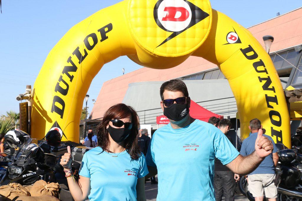 Camino Rodríguez y Chema Hernández, responsables de Travelbike Tours.