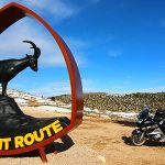The Silent Route en moto