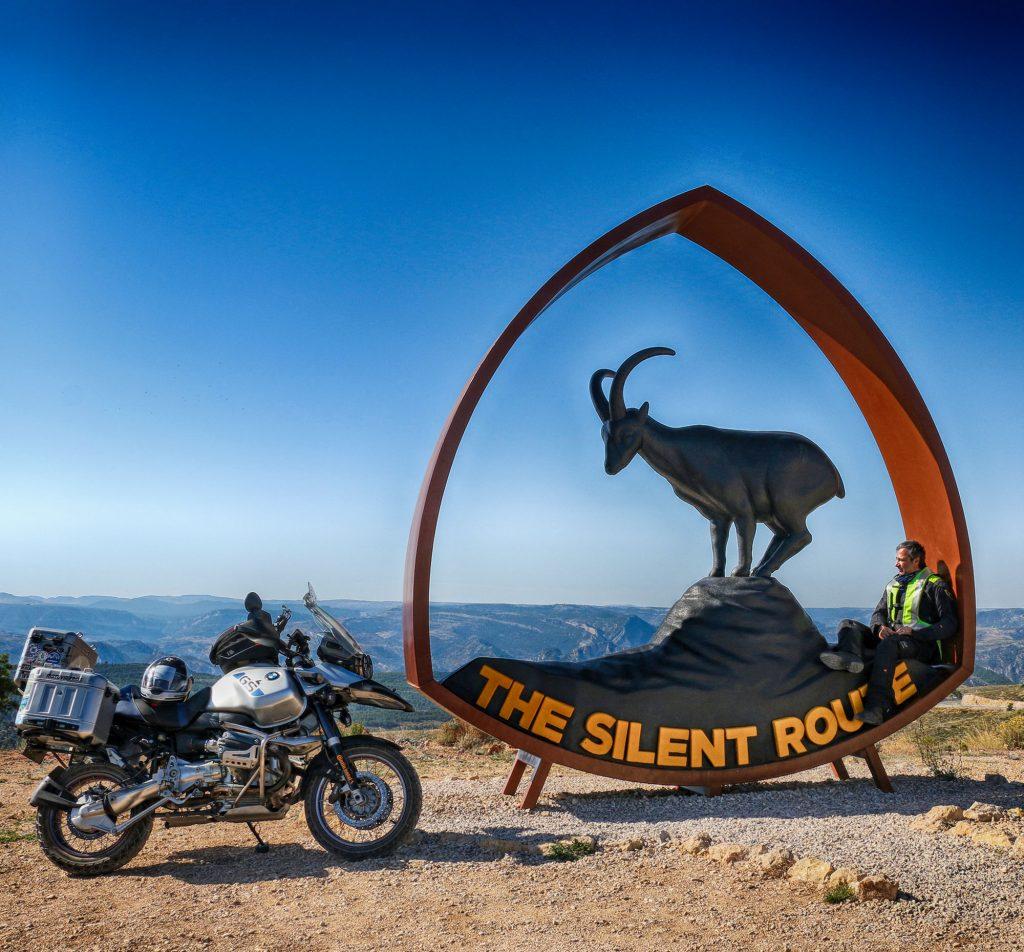 Silencioso, el macho de cabra montés que se ha convertido en imagen de The Silent Route.
