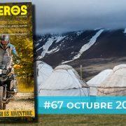 Octubre 2020 // Nº 67 Revista Motoviajeros – 40 aniversario GS