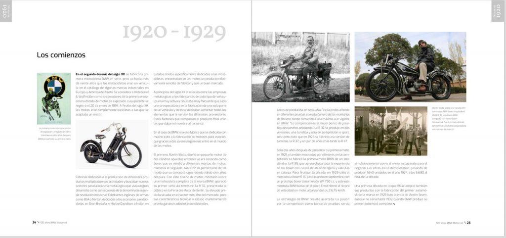 Historia: 100 años BMW Motorrad.