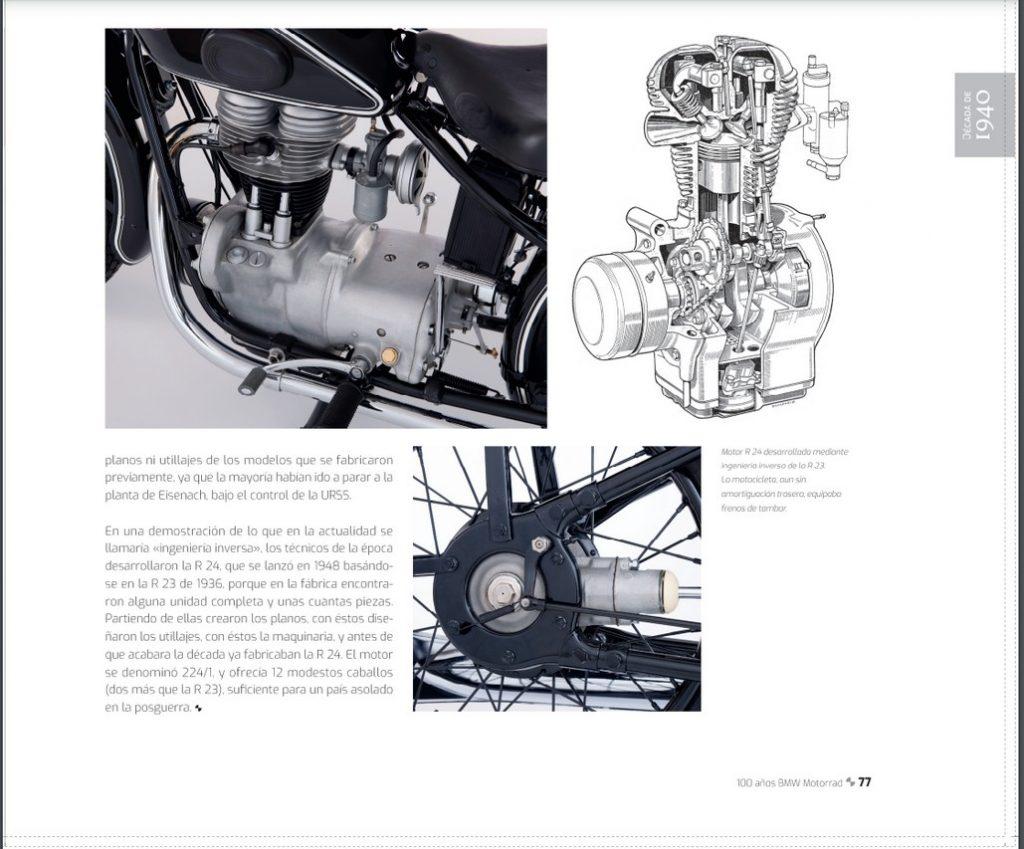 Libro 100 Años BMW Motorrad.