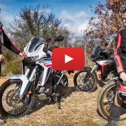 Jesús Calleja, con la nueva Honda CRF1100L Africa Twin