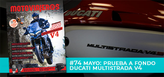 Mayo 2021 // Nº 74 Revista Motoviajeros – Prueba Ducati Multistrada V4