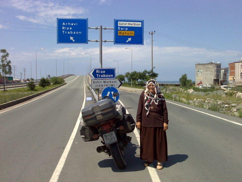 Desvío hacia Rize Trabzon