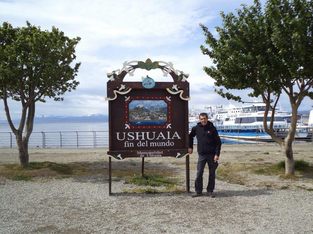 Una gran emoción invade al viajero a su llegada a Ushuaia