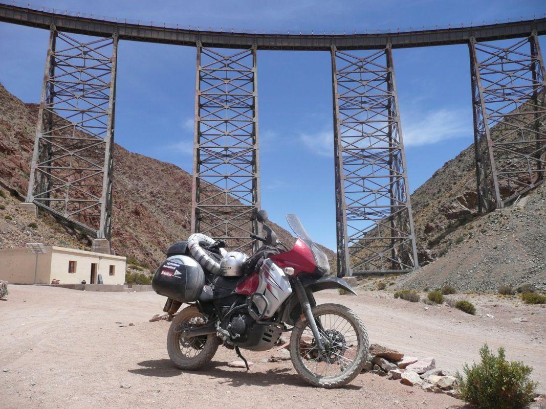 Viaducto La Polvorilla (4.200 msnm)