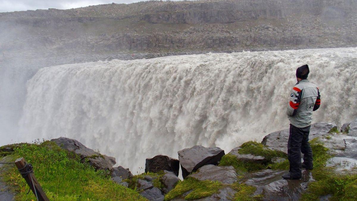 Deltifoss, considerada la cascada más caudalosa de Europa