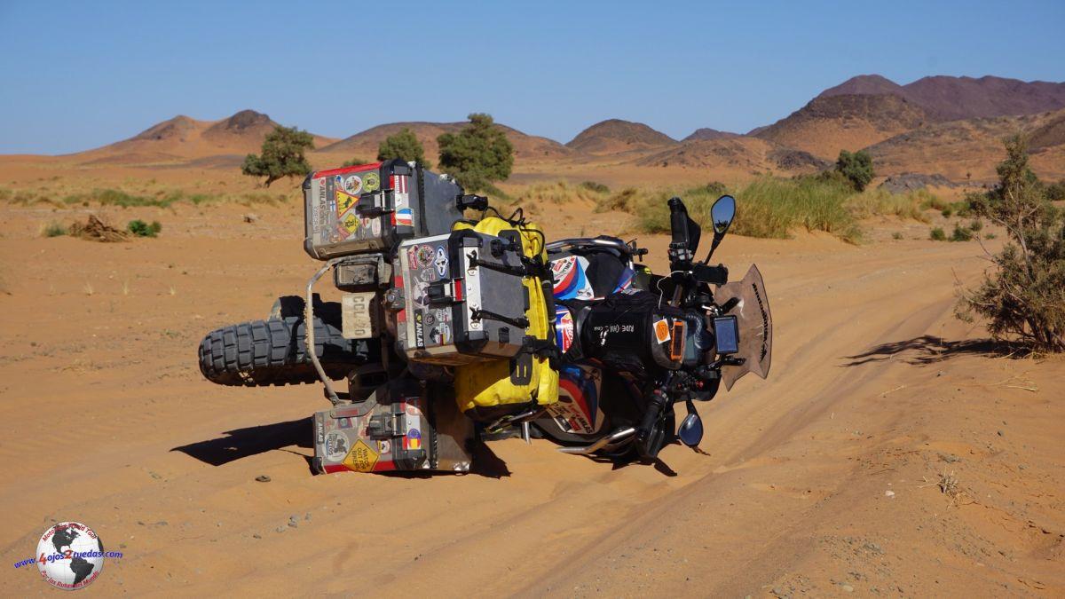 Desierto del Sahara. Marruecos