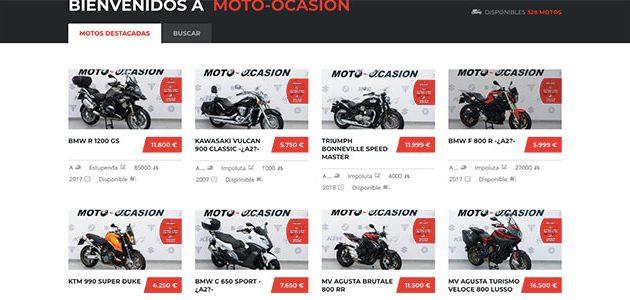 Moto-Ocasión: comprar motos (con un clic) nunca fue tan fácil
